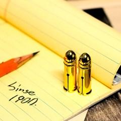 [DUX] 독일 빈티지 철제 연필캡 뚜껑 골드_(1335219)