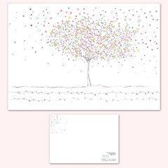 STRAWHAT LOVE illust postcard-봄