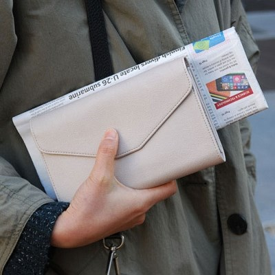 [스크래치] Holiday Clutch