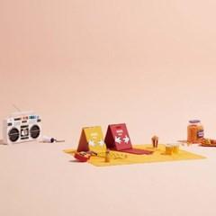 시디즈X디즈니 C300 휴대용 의자 + 돗자리매트_(637293)
