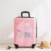 [디즈니] 아기사슴 밤비 캐리어 기내용 20형 핑크
