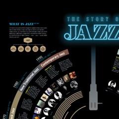인포그래픽 포스터 - 재즈