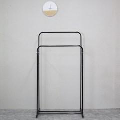 밀크행거1단(소)-블랙