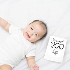 Mellow Milestone cards - Mono (마일스톤카드)