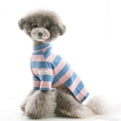 Candy T-shirt / pink & blue (와펜set)