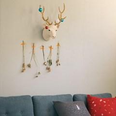 [오리고] 헌팅 트로피 코튼 사슴