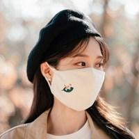 [Organic Mask] Leaf cat (Adult)