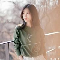 [Organic cotton] Cat dish - green. (발목양말 증정)