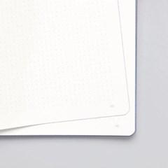 [NUUNA] 누우나 그래픽 노트 라지 라이트 - GLOOM