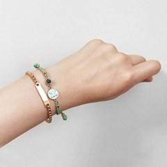 [선물포장]팔레트 탄생석+별자리 매듭팔찌(5컬러)