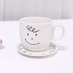 찰리 머그 커피잔