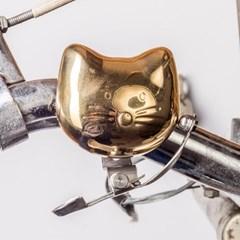 [썩유케이] 빈티지 황동 자전거벨 고양이_(1345796)