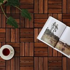 마켓비 MUPAN 원목조립마루 30x30 아카시아(10개입)