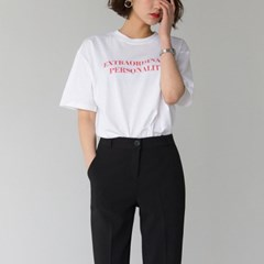 personality word tee