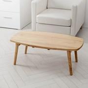 [한샘몰X홈앤하우스] 브레드 접이식 원목 테이블