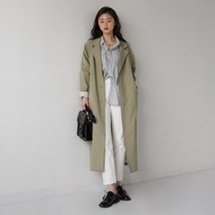many simple trench coat