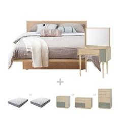 [텐바이텐단독구성] 비에니 Q 침실세트