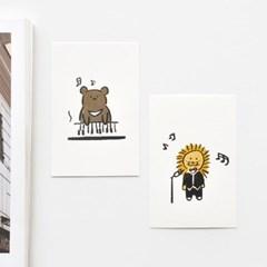 버디 포스트카드 엽서세트 12p
