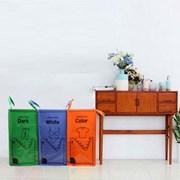 로긴스타일 대용량 가정용 분리수거함/재활용박스/분리수거통