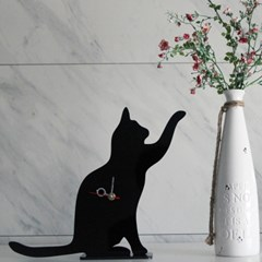 상상타임-인테리어 고양이 시계