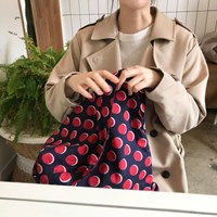 알로하백 Aloha bag - Dot Navy