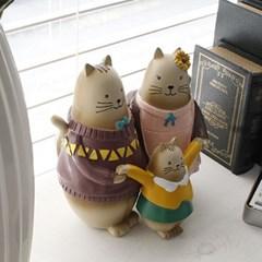 고양이 가족 인형(5248)