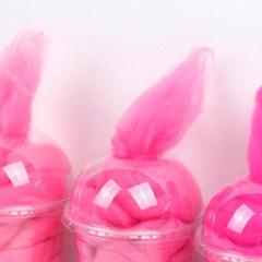 메리노양모 핑크 컬러세트