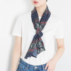 flower paisely scarf