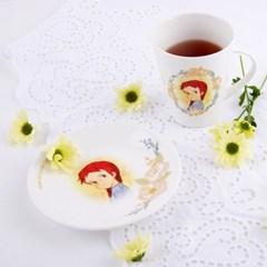 빨강머리앤 머그컵&접시 세트
