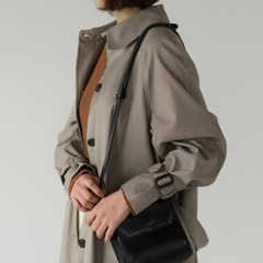 classic check trench coat