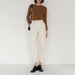 maxi cotton loose pants