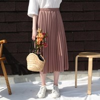 Lovly pleats skirt