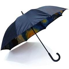 명화_우블리-고흐 별이 빛나는 밤에 65이중 우산양산겸용 자동