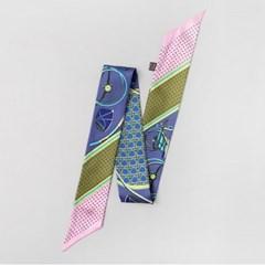 Silk Cass Petit Tie Scarf