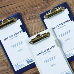 Jam clip boards