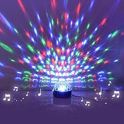 할로윈데이 LED미러볼 파티용품 휴대용 노래방 싸이키조명