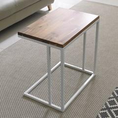 가구데코 원목 소파 사이드 테이블 GM0144