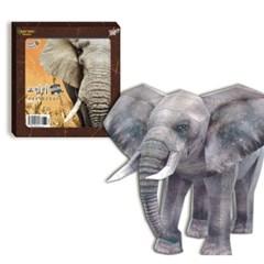 코끼리 만들기 (DIY Papercraft)