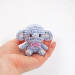 (DIY 키트)손뜨개 코끼리 인형 - 꼬마 시리즈