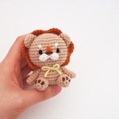 (DIY 키트)손뜨개 사자 인형 - 꼬마 시리즈