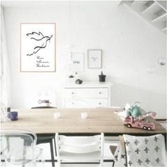 The dove - 드로잉 그림 포스터