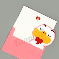 카카오프렌즈 러브 트윈 편지지_(2510390)