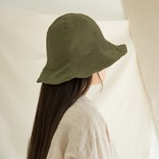 [2 colors]natural bucket hat