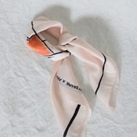 [치즈달] tanya square scarf