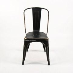 [GAWON] VINTAGE 의자 GH-3534S (엔틱블랙)/철제의자