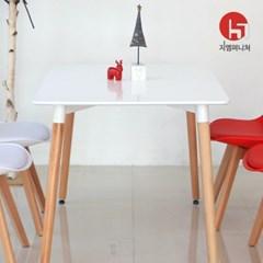 1200 사각 화이트식탁 카페테이블 티테이블