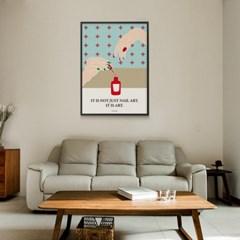 유니크 인테리어 디자인 포스터 M 네일아트 잇츠아트