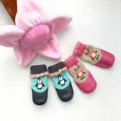 밀로티 워터프루프슈즈 꽃샘 -강아지신발