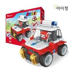 아이정 파이블럭 5종변신 보보 경찰차