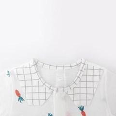 [메르베] 당근당근 신생아 우주복/북유럽아기옷_여름용(_(1019935)